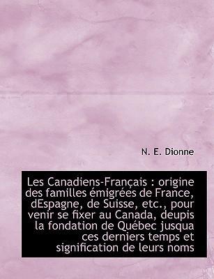 Les Canadiens-Fran Ais