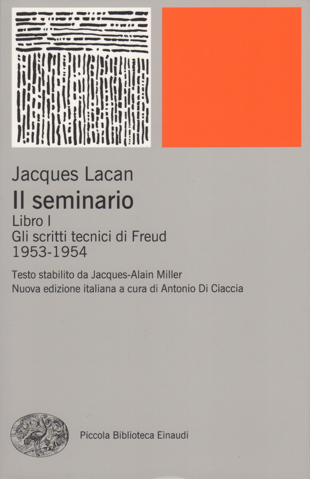 Il seminario. Libro I