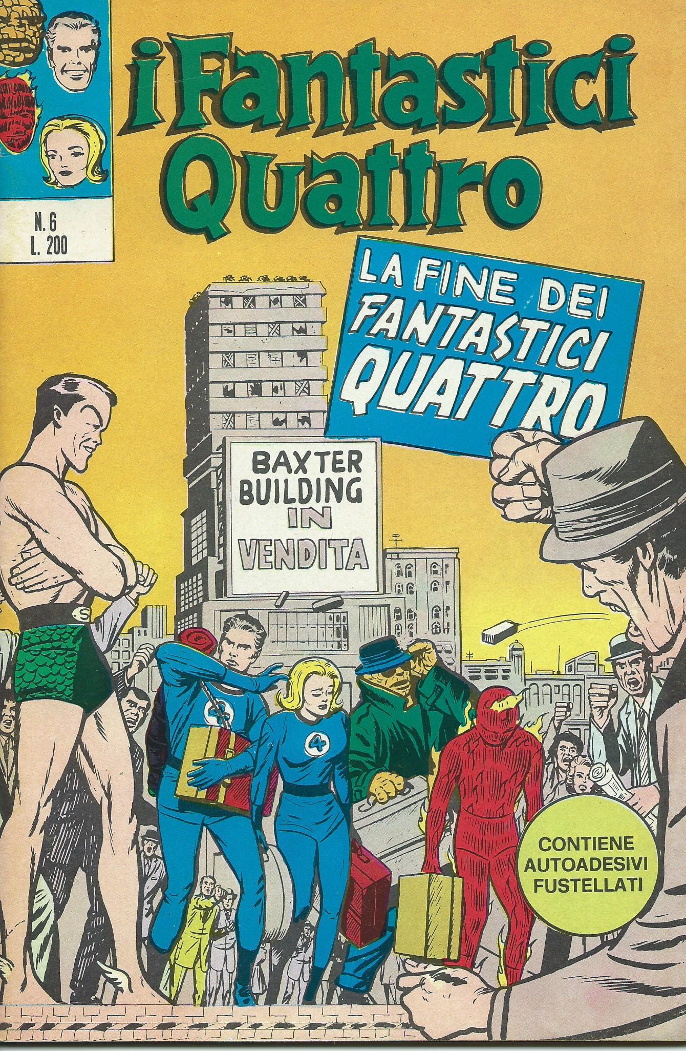 I Fantastici Quattro n. 6