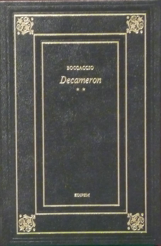Decameron (Giornate V-X)