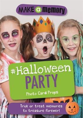 Make a Memory #Halloween Party Photo Card Props