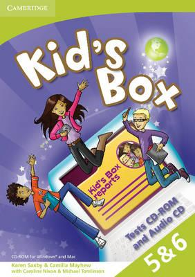 Kid's Box American English Levels 5–6 Tests CD-ROM and Audio CD