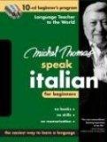 Michel Thomas Speak Italian for Beginners