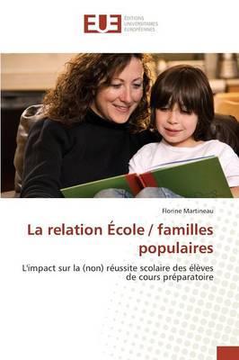 La Relation Ecole / Familles Populaires