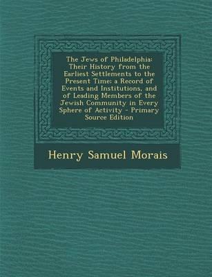 The Jews of Philadelphia
