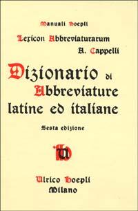 Lexicon Abbreviaturarum
