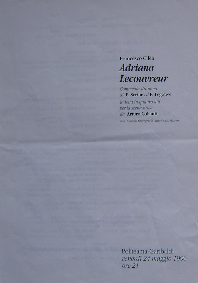 Adriana Lecouvreur