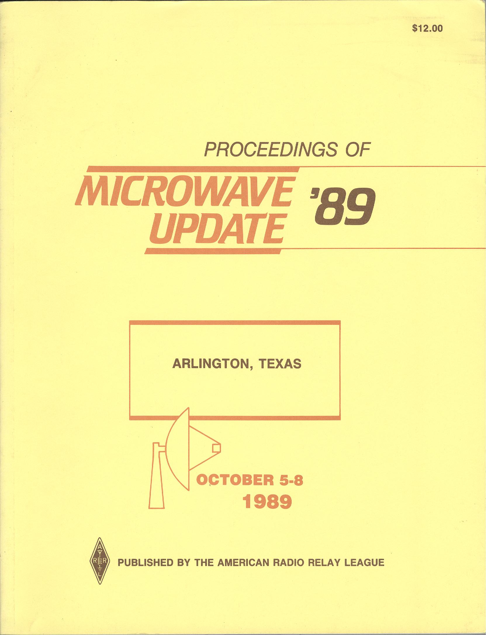Proceedings of Microwave Update '89