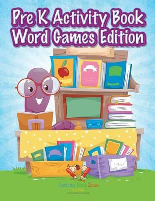 Pre K Activity Book Word Games Edition