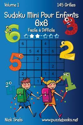 Sudoku Mini Pour Enfants 6x6, Facile À Difficile