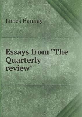 Essays from the Quarterly Review