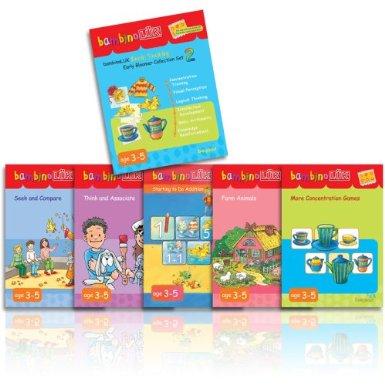 bambinoLUK Brain Training Early Bloomer Collection Set 2