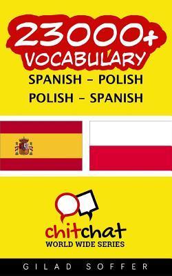 23000+ Spanish Polish Polish-Spanish Vocabulary