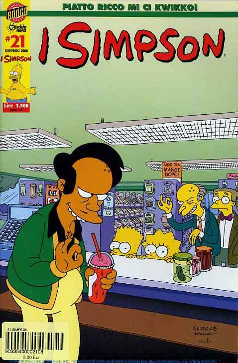 I Simpson n. 21