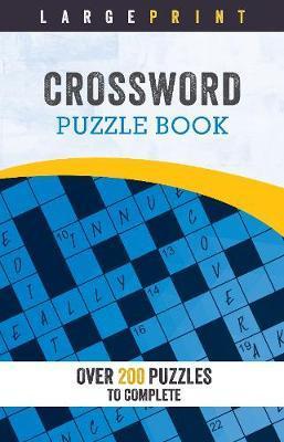 Large Print Crossword Puzzle Book