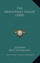The Mountainy Singer