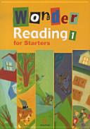 WONDER READING FOR STARTERS. 1 (CD 1장 포함)