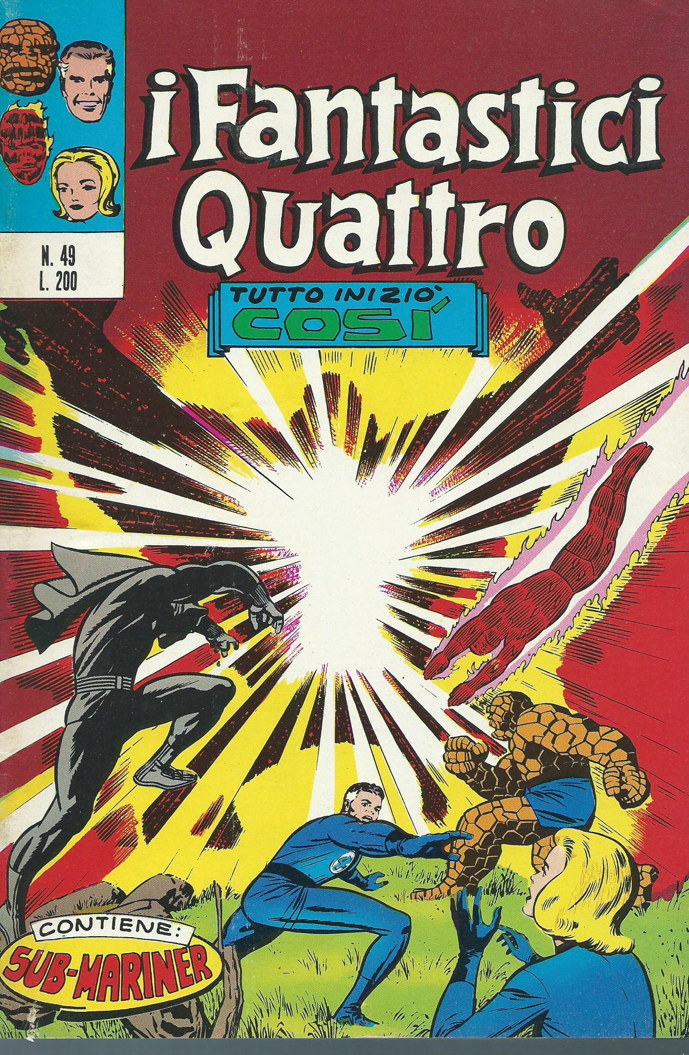 I Fantastici Quattro n. 49