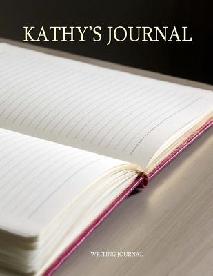 Kathy's Lined Journal