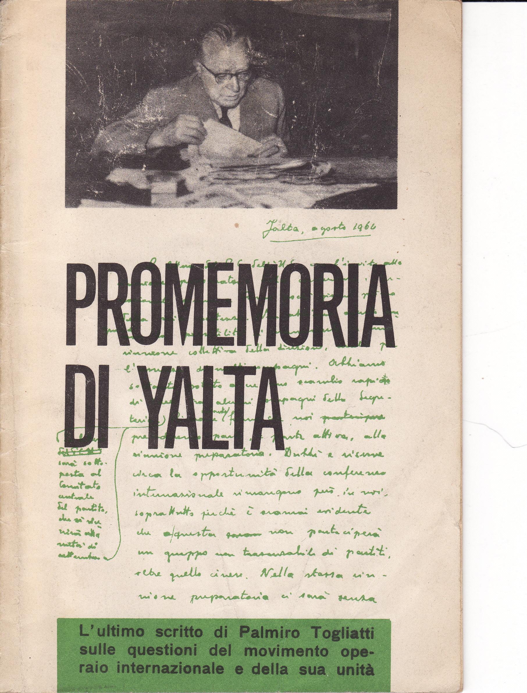 Promemoria di Yalta