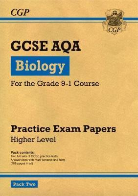 New Grade 9-1 GCSE Biology AQA Practice Papers