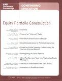 Equity Portfolio Construction