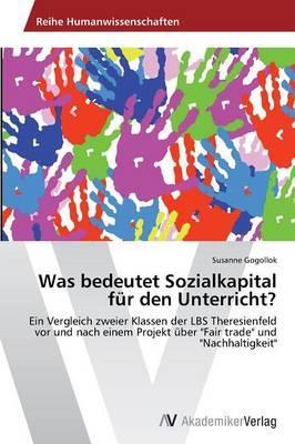 Was bedeutet Sozialkapital für den Unterricht?
