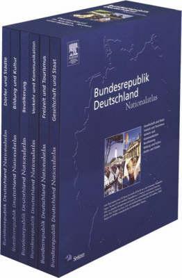 Nationalatlas Bundesrepublik Deutschland - Unser Land in Karten, Texten Und Bildern