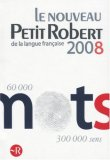 Le Nouveau Petit Robert 2008