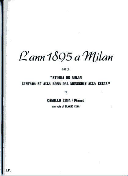 L'ann 1895 a Milan