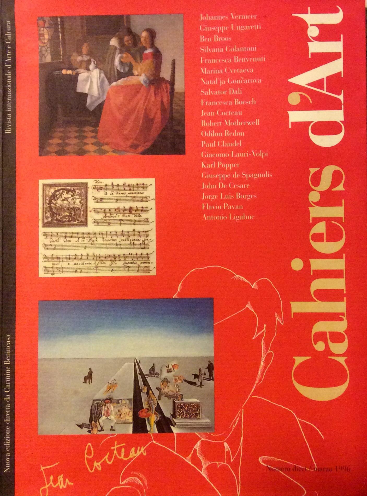 Cahiers d'Art. Rivis...