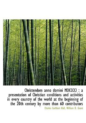 Christendom Anno Dom...