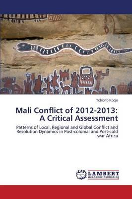 Mali Conflict of 2012-2013