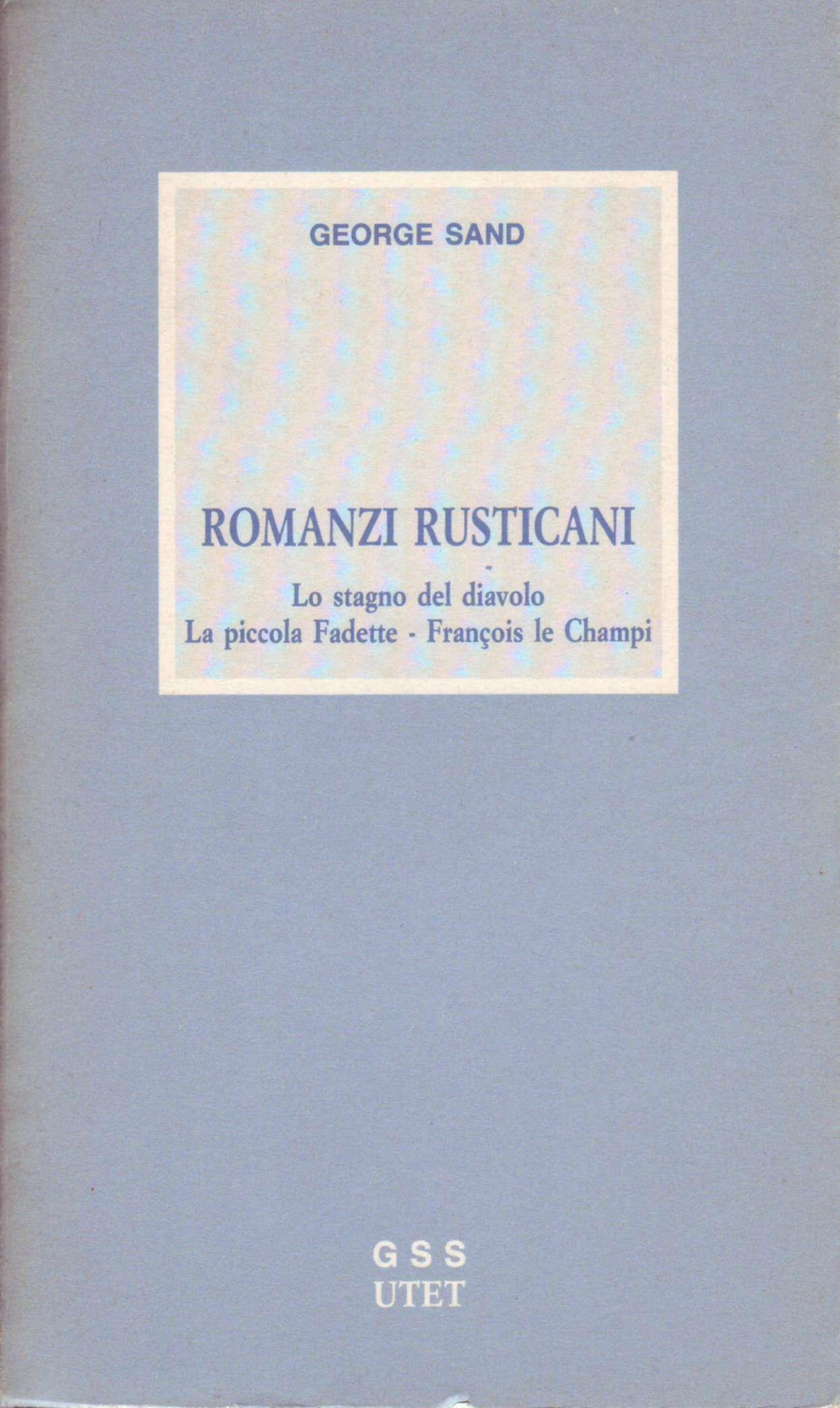 Romanzi rusticani