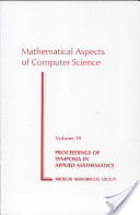 Mathematical Aspects of Computer Science