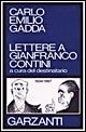 Lettere a Gianfranco Contini (1934-1967)