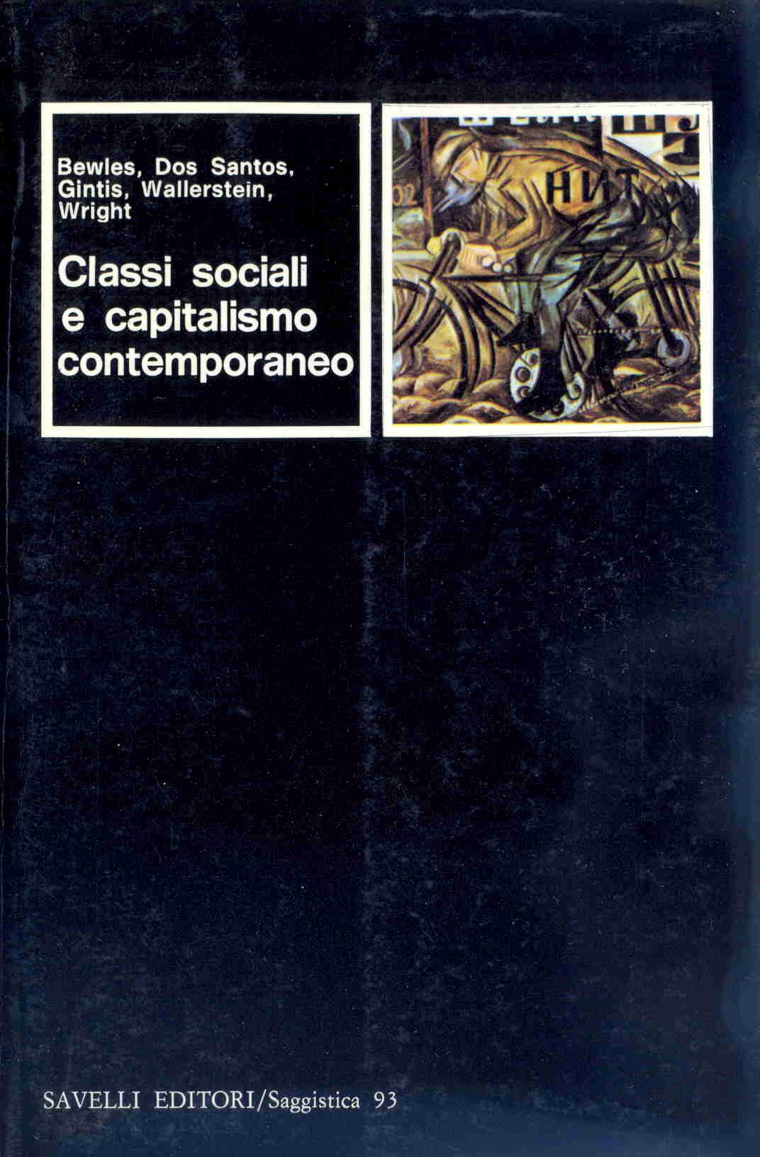 Classi sociali e capitalismo contemporaneo