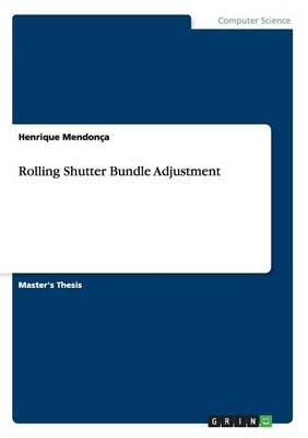 Rolling Shutter Bundle Adjustment