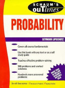 Theory and problems of probability