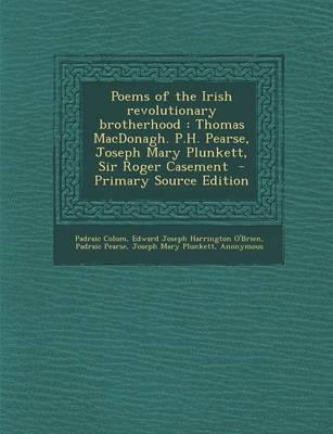 Poems of the Irish Revolutionary Brotherhood