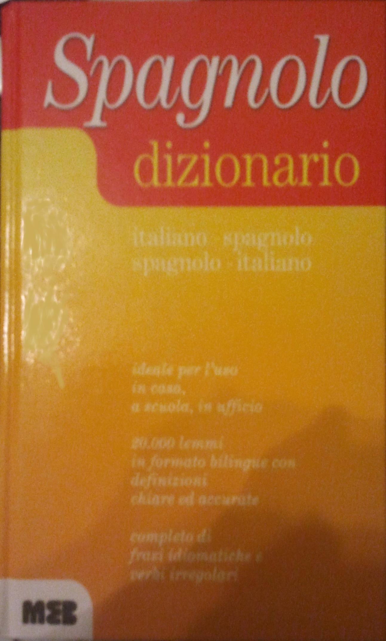 Dizionario di spagnolo