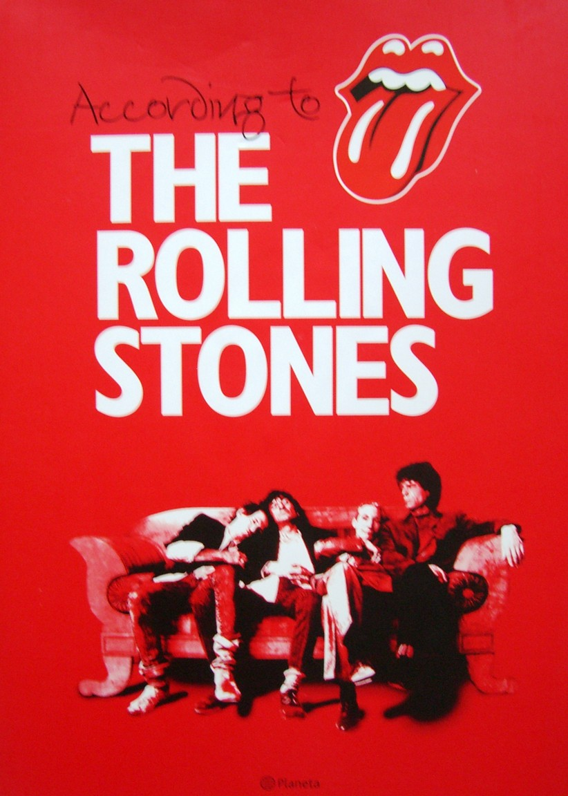 According to the Rolling Stones, Spanish Edition