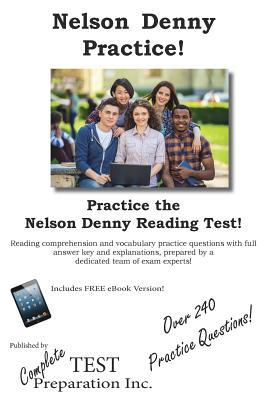 Nelson Denny Practice!