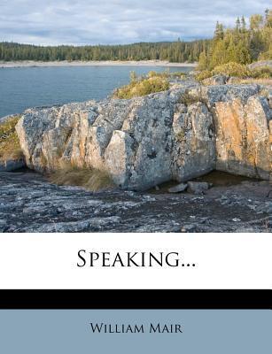 Speaking.