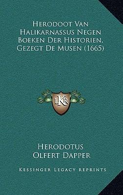Herodoot Van Halikarnassus Negen Boeken Der Historien, Gezegt de Musen (1665)