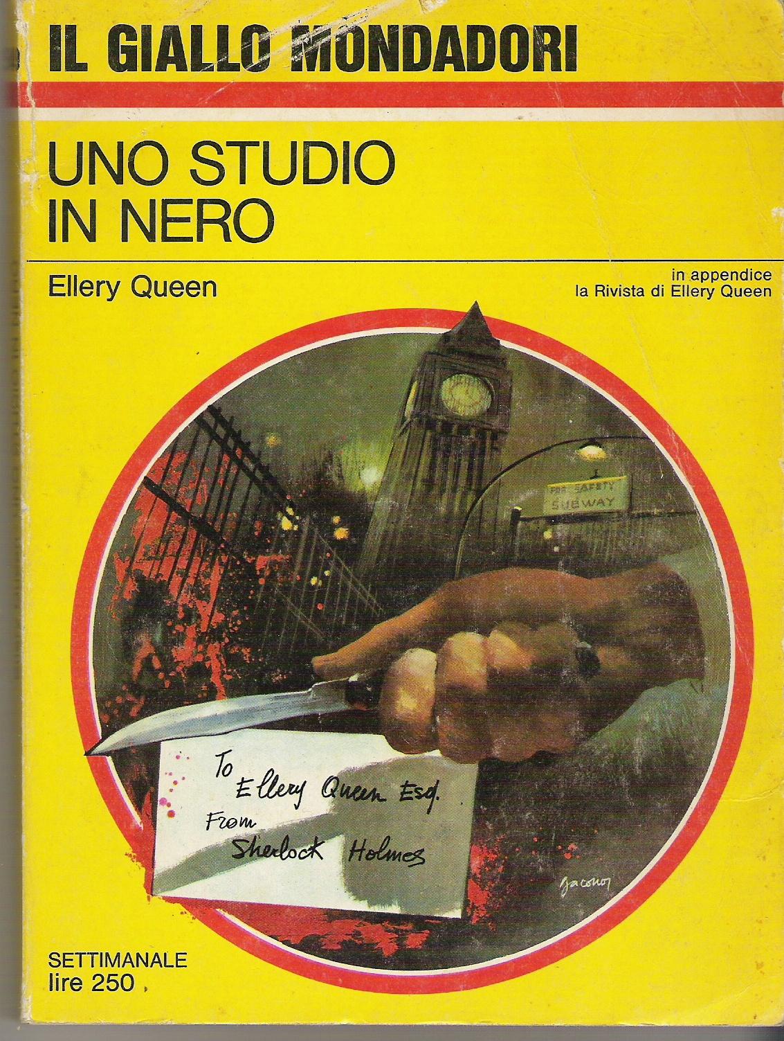 Uno Studio In Nero uno studio in nero - ellery queen - anobii