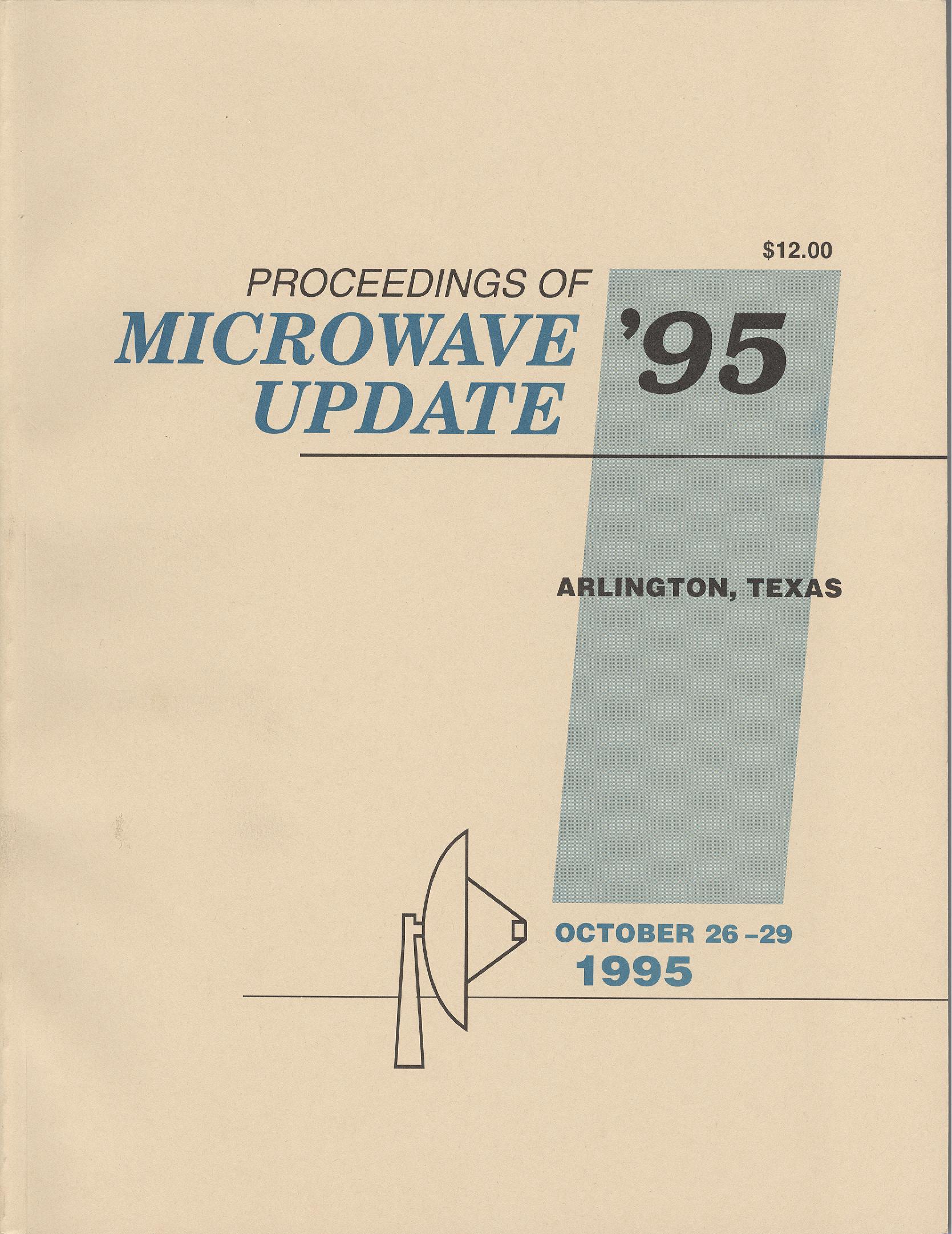 Proceedings of Microwave Update '95