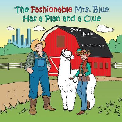 The Fashionable Mrs. Blue Has a Plan and a Clue