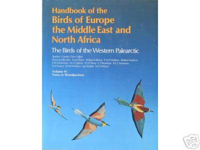 Handbook of the Birds of Europe, the Middle East and North Africa: Terns to Woodpeckers v.4