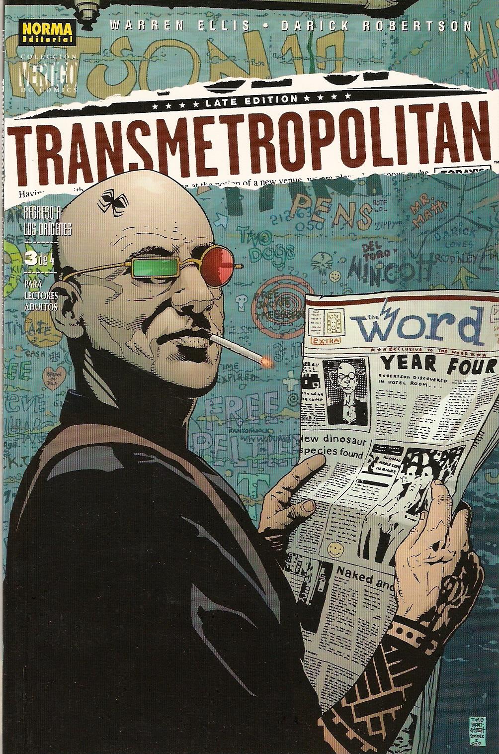 Transmetropolitan: R...